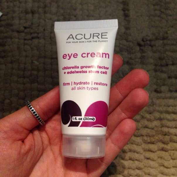 eye cream acure