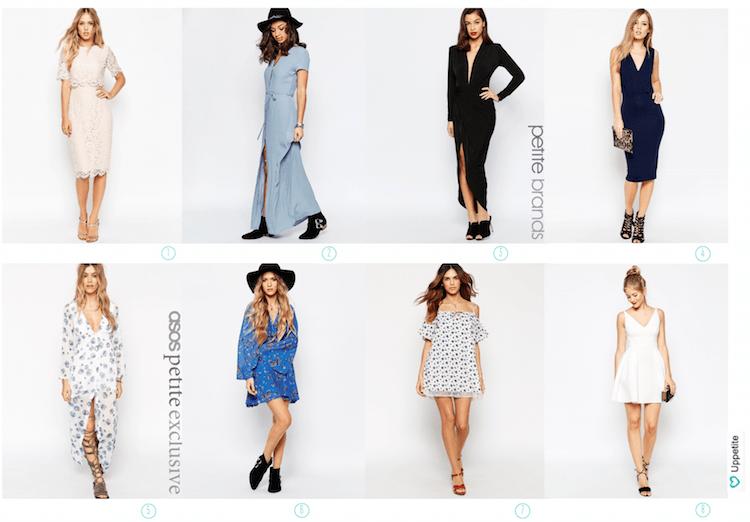 Как выбрать длину платья по росту