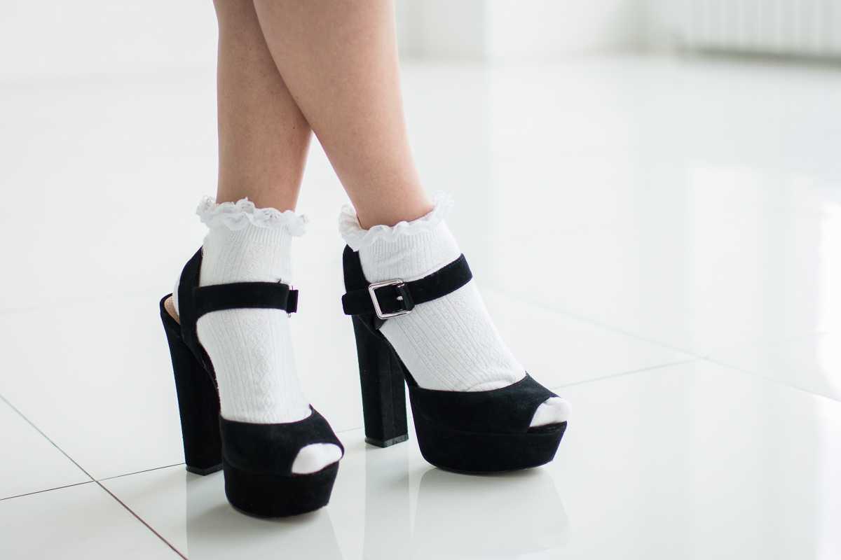 Замшевые босоножки на толстом каблуке: моя любовь, которая не проходит!