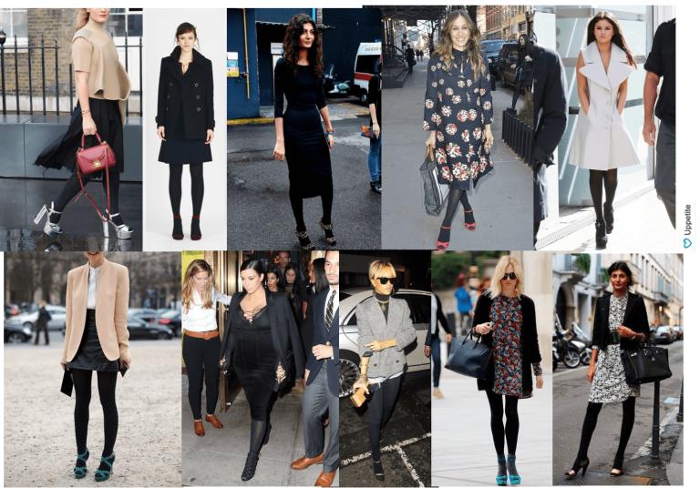 Босоножки с колготками: модное сочетание или признак дурного вкуса?