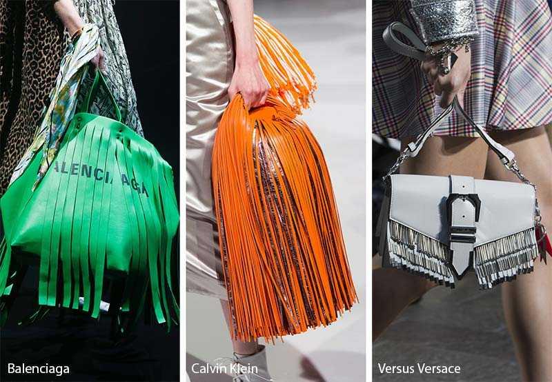 c10125249dfd Вообще бахрома является одним из ведущих трендов сезона 2018, так что и модные  сумки лета 2018 не стали исключением. Она украшала модели разных размеров и  ...