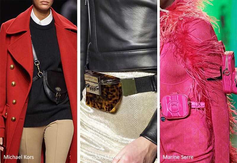 модные сумки осень зима 2020 2021: обзор трендов с подиумов