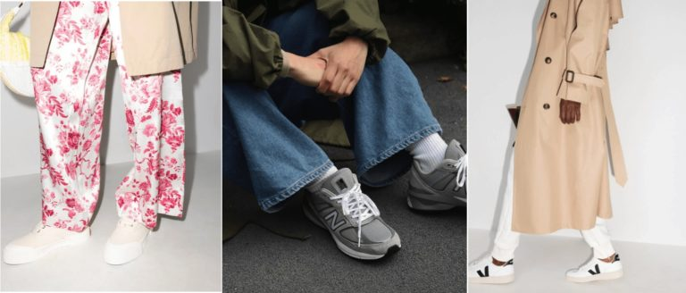 Модные женские кроссовки 2021  тренды