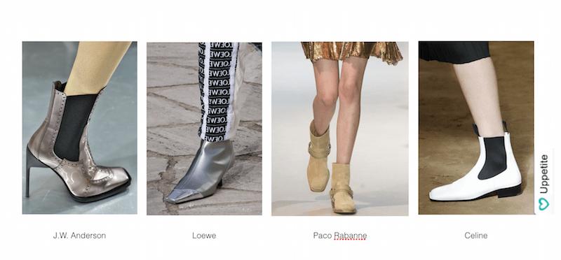 Modnaja obuv' vesna leto 2016 kvadratnye nosy