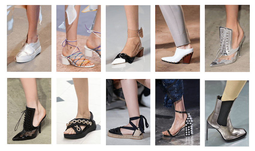 Модная обувь весна лето 2016: обзор тенденций и фото с показов