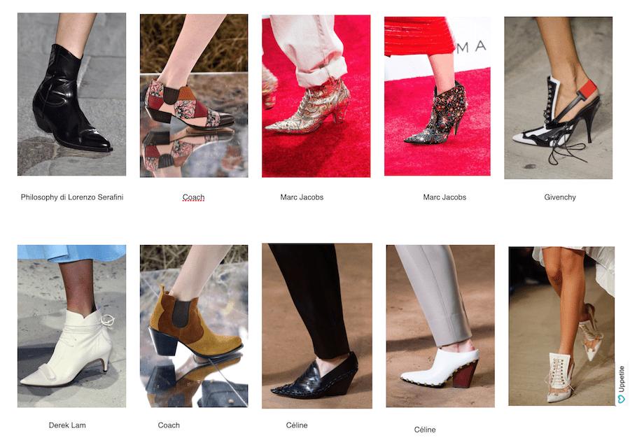 obuv' v kovbojskom stile trend 2016