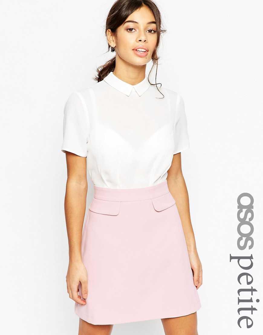 Платье-платье колор блок ASOS PETITE